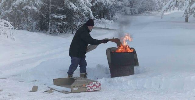 Tjugo gånger fler dör av kyla än av värme