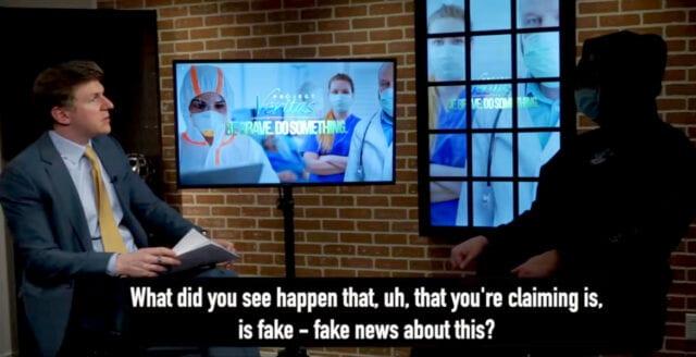 CBS News avslöjas med att iscensätta fejkad coronakris