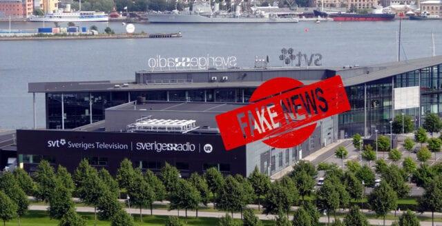 """""""Sveriges Radio sprider falska nyheter"""""""