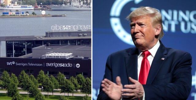 SVT nämner Trump tre gånger så ofta som Löfven
