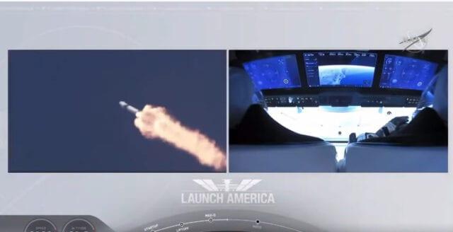 Problemfri resa för första bemannade rymdfarkosten på 9 år