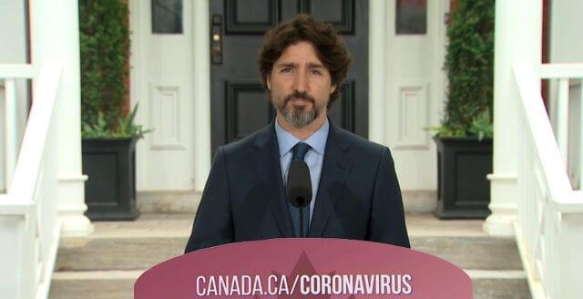 Justin Trudeau fick fråga om Trump – blir tyst i 21 sekunder