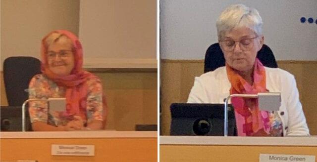 Hedersförtryck debatterades i Skövde – S-ledamot bar slöja