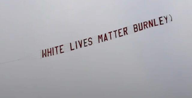 Premier league-klubb tar avstånd från budskap om att vita liv har värde