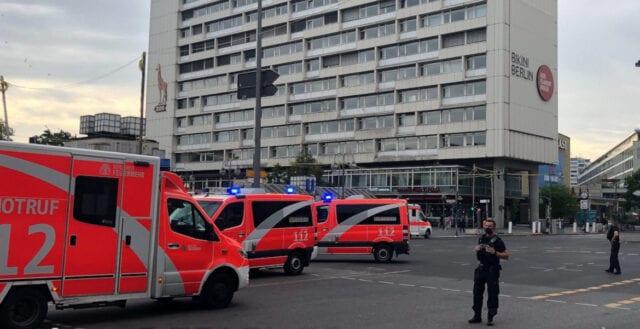 Bil körde in i folkmassa i Berlin – sju skadade