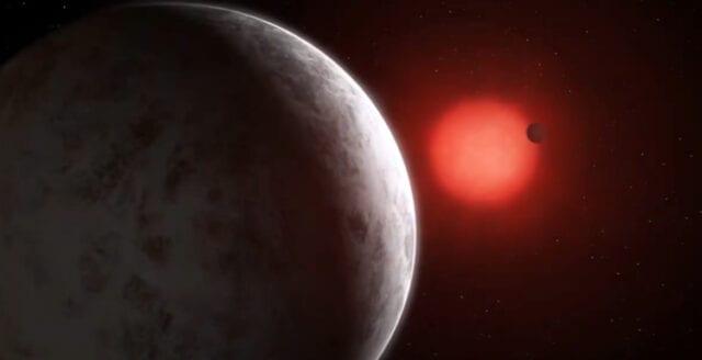 Planetfamilj upptäckt nära jorden