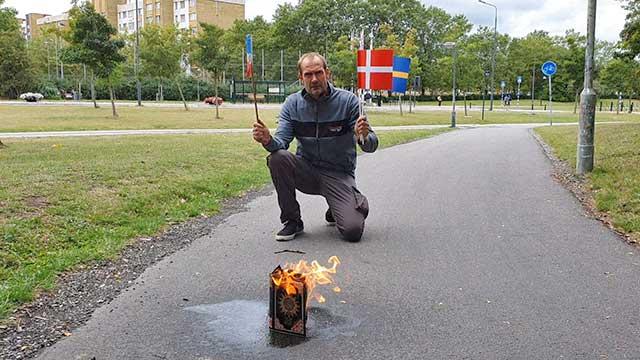 Trots indraget demonstrationstillstånd – Koranen brändes i Rosengård