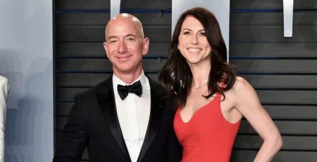 Amazongrundarens ex-fru medger aktivistiska miljardstödet