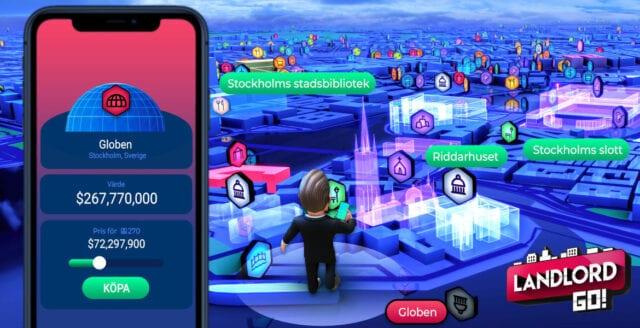 Pokemon Go möter Monopol i nytt realityspel