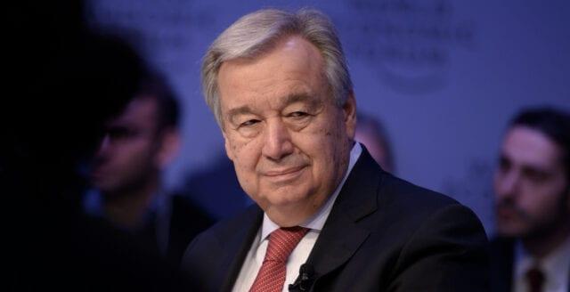 """FN:s generalsekreterare skyller coronapandemin på """"patriarkatet"""""""
