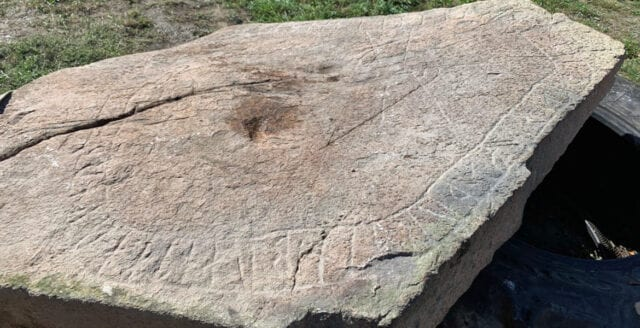 Tidigare okänd runsten hittad i Småland
