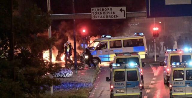 Notan för muslimska upploppet i Malmö: 1 miljon kronor