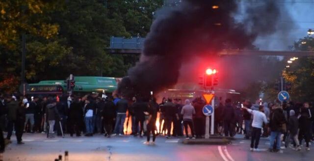 Våldsamma Korankravallerna i Malmö anmäls till Arbetsmiljöverket