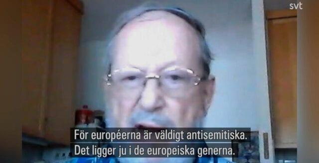 """Judisk bosättare i SVT: """"Antisemitismen ligger i de europeiska generna"""""""