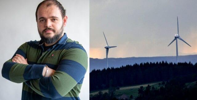 """""""Miljöpartiet försöker inskränka kommuners vetorätt och därmed gynna utländska vindkraftsintressen"""""""