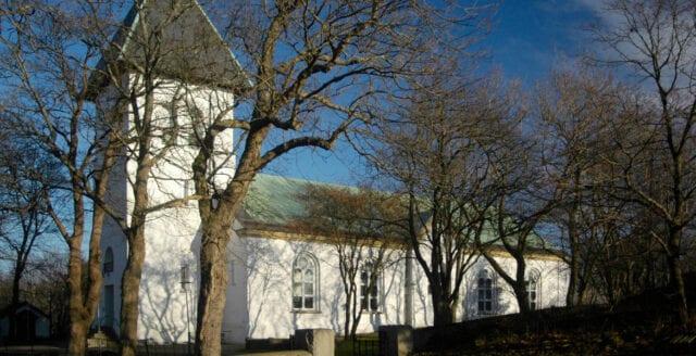 Kyrka i Göteborg utsatt för skadegörelse
