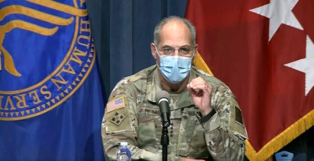 USA: Coronavaccinet ska distribueras i stor militär operation