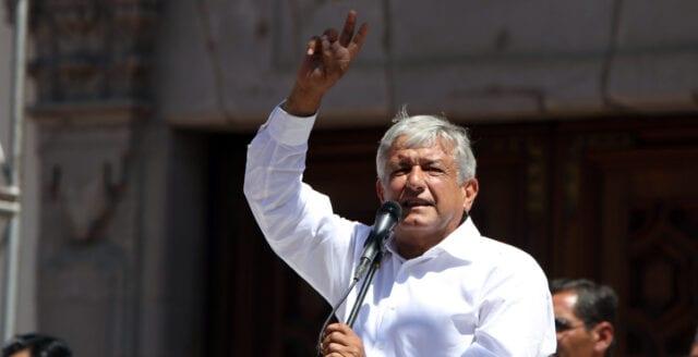 Mexikos president erkänner inte Biden som president