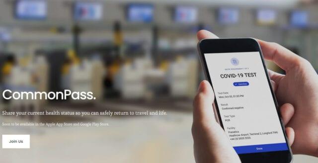 """""""Coronapass"""" införs av fem stora flygbolag"""