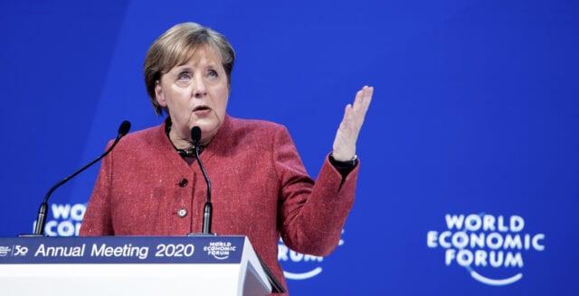 Merkel tar ny ansats för hårdare repression i Tyskland
