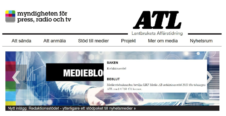 ATL mediestöd