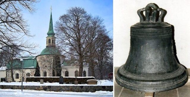 1600-talsklocka stulen från Bromma kyrka