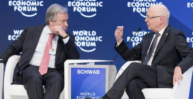 World Economic Forum och FN mobiliserar för att kväsa coronakritik