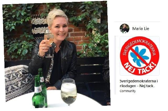 Polisen Maria Lie hatar SD