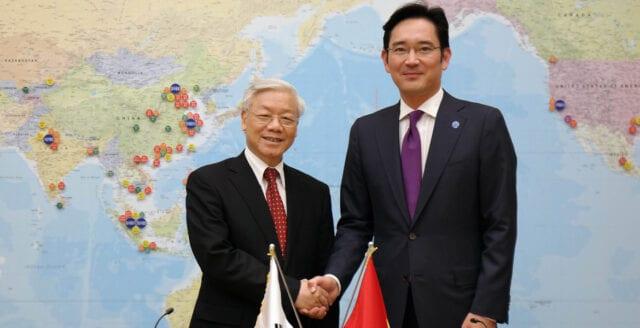 Fängelse för Samsung-chef efter korruptionsskandal