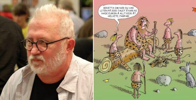 Satirtecknaren Hans Lindström död
