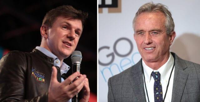 Project Veritas och Robert Kennedy stängs av från Twitter och Instagram