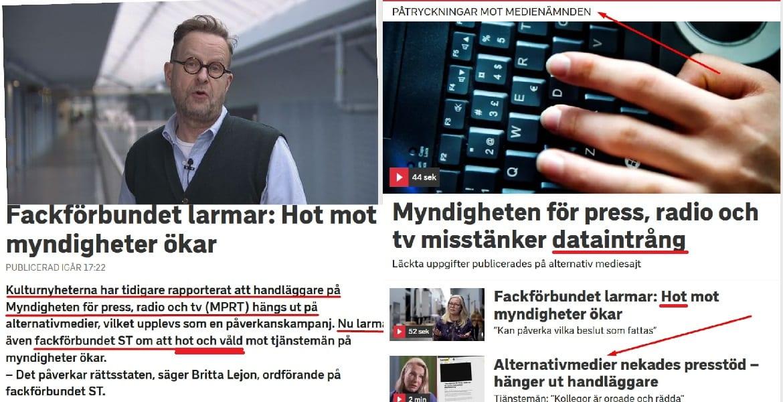 SVT:s Per Andersson fejkar nyheter