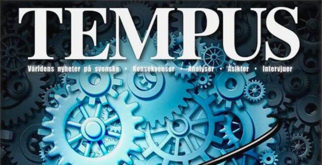 Vänsterliberala magasinet Tempus likvideras