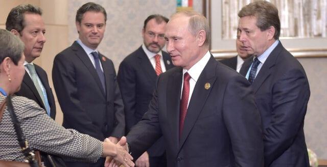 Putin är i alla fall den ende statsman som världen kan uppvisa