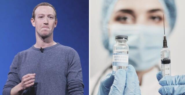 Facebook förbjuder all information om att vaccin är farliga