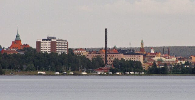 Synskadad man misshandlad i Östersund