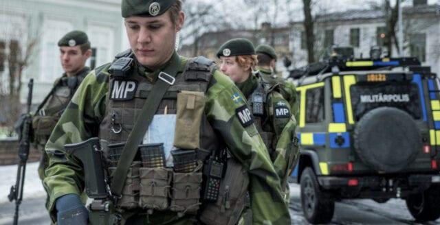 """Efter frihetsdemonstrationerna – nu övar militärpolis på att bekämpa """"ordningsstörningar"""""""