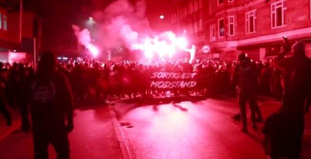 Fortsatta protester mot coronarepressionen i Danmark