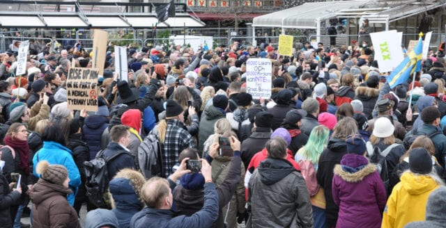 Frihetsmanifestationer över hela världen den 20:e mars