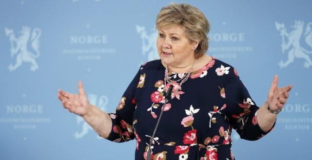 Nu bötfälls Solberg för brott – mot sina egna restriktioner