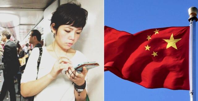 Nya appen – kineserna uppmanas anmäla oliktänkare