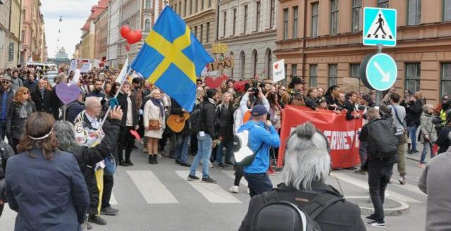 Frihetsrörelsen kallar till nationaldagsfirande i ny demonstration
