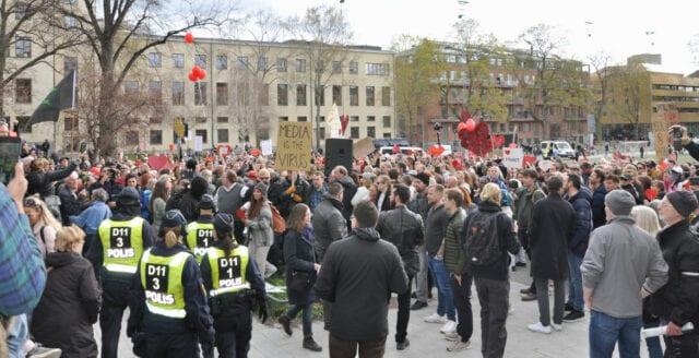 Världsomfattande protester mot coronapolitiken utlysta den 15 maj