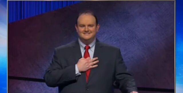 Vänsterextrem hatstorm riktas mot Jeopardy-vinnare
