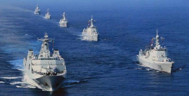 Kina storsatsar militärt i Afrika