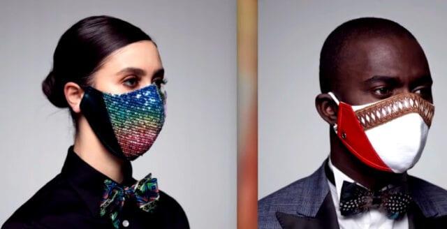 """Så blev ansiktsmaskerna en """"trendig accessoar"""""""