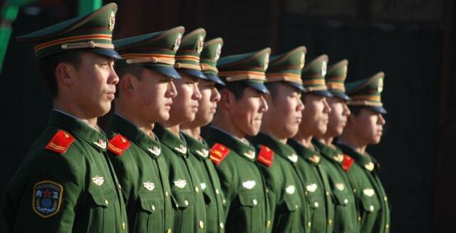 Kina: Vår militära upprustning är fredlig