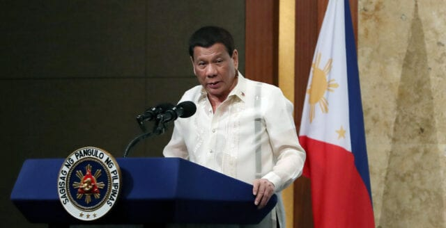 """Duterte: """"Vi behöver inga utlänningar för att utreda dödsfall"""""""