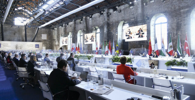 G20-gruppen ett steg närmare globala skatteregler
