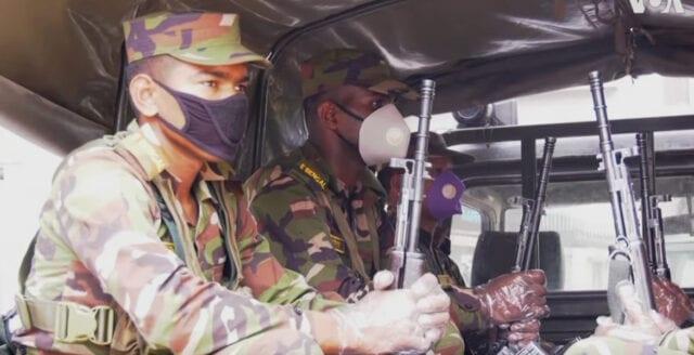 """Bangladesh sätter in militär mot """"coronaförbrytare"""""""